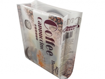 plastic coffee bag