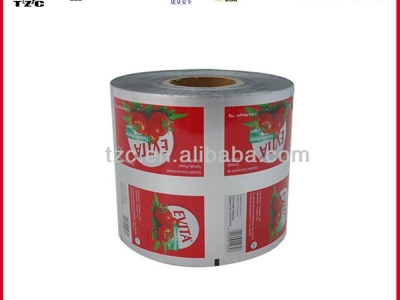 tomato sauce ketchup packaging roll film